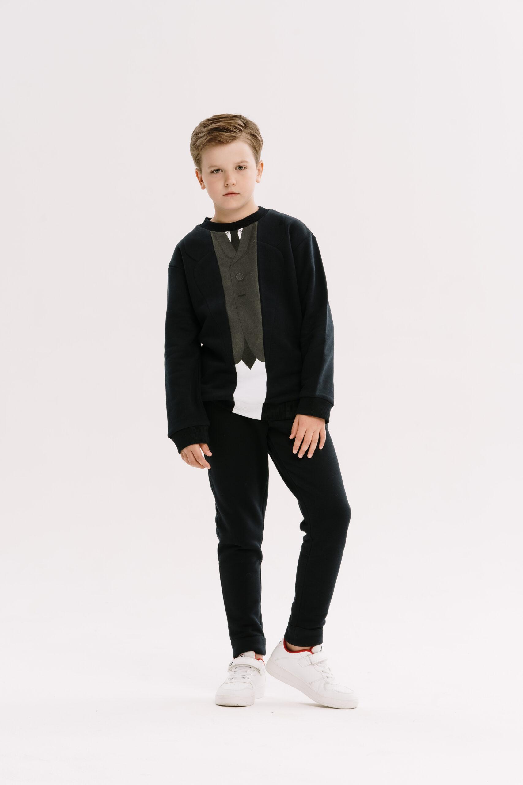 Трикотажные школьные брюки Back to school online