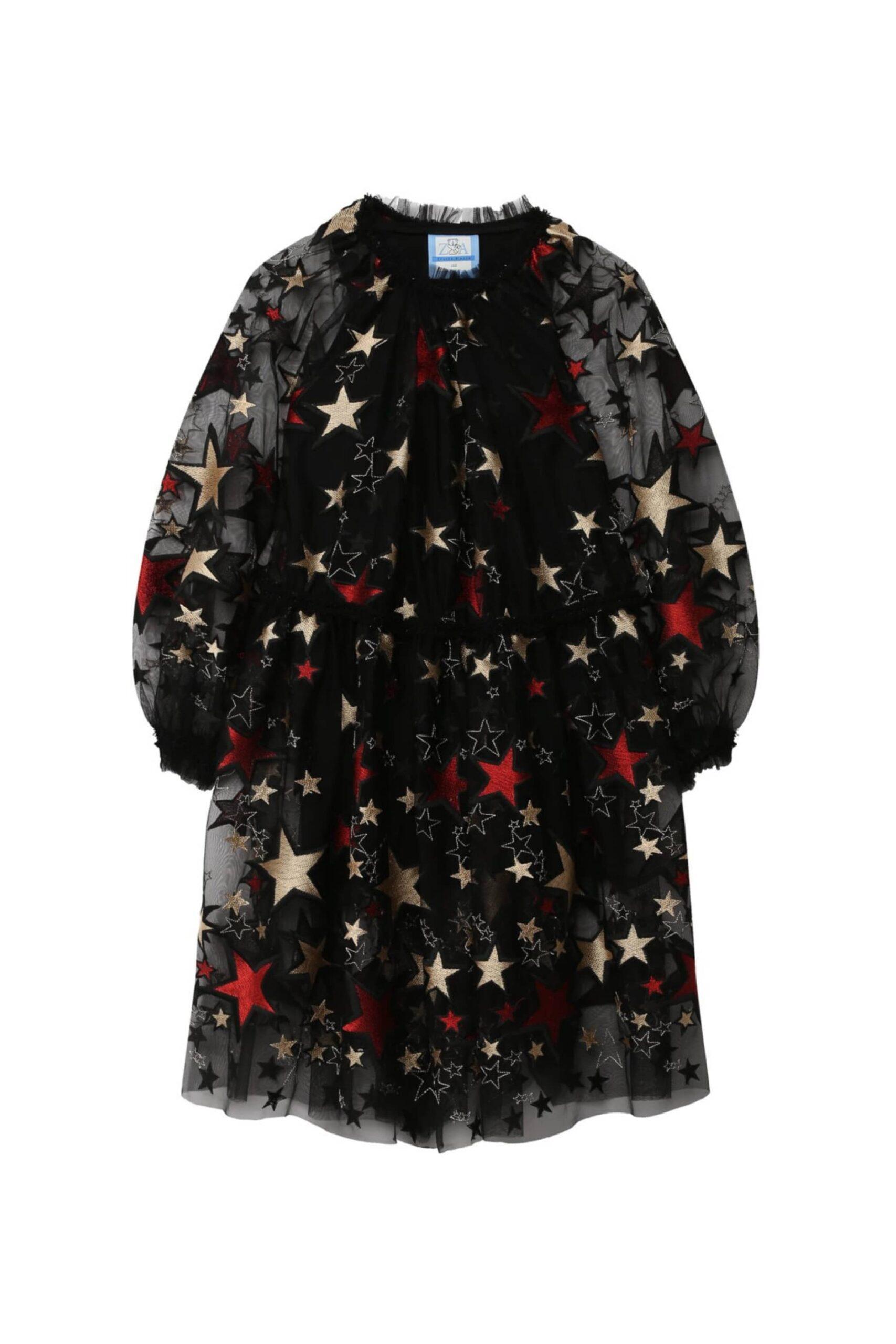 Платье двойное вечернее STARS