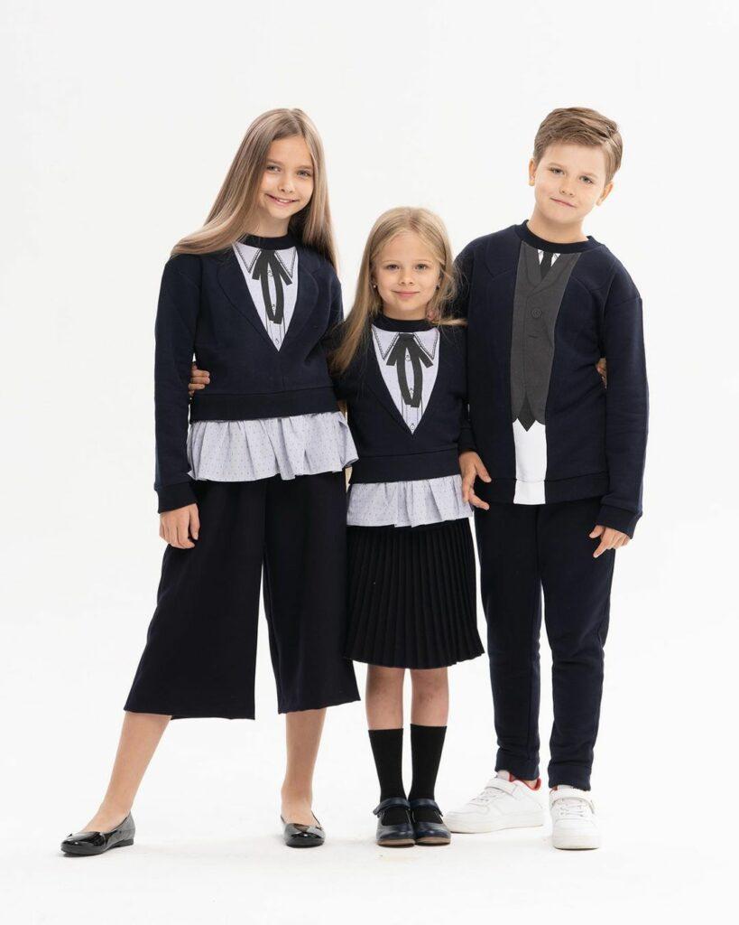 купить брендовую школьную форму для девочки