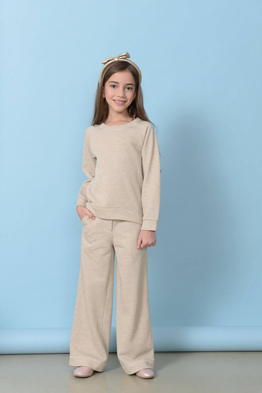 брюки трикотажные для девочки