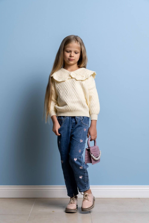 джинсы бананы для девочки купить в москве