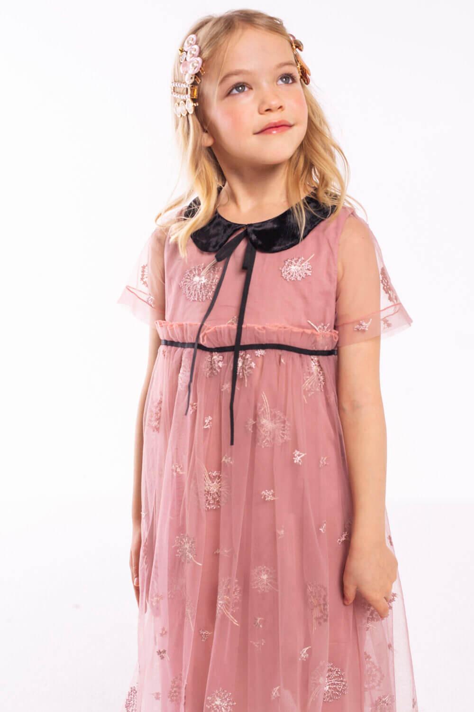 купить розовое платье для девочки в москве