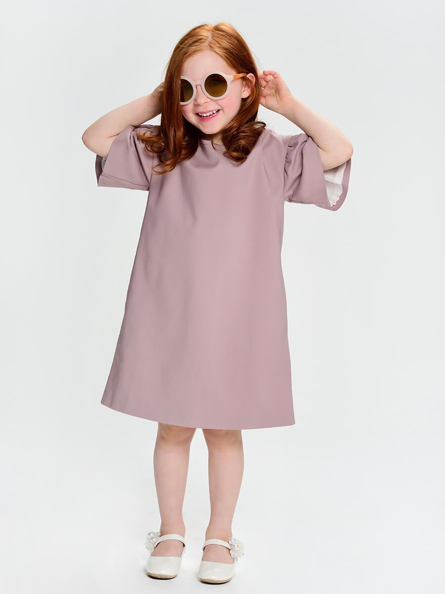 платье для девочки с крупным рукавом купить в москве