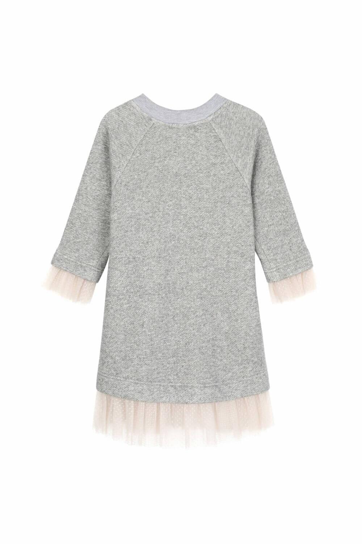 платье со свитшотом для девочки