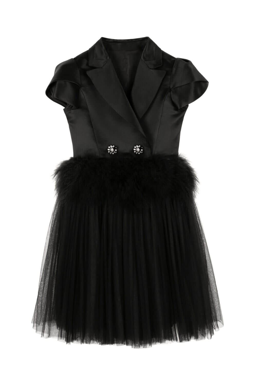 смокинговое платье для девочки