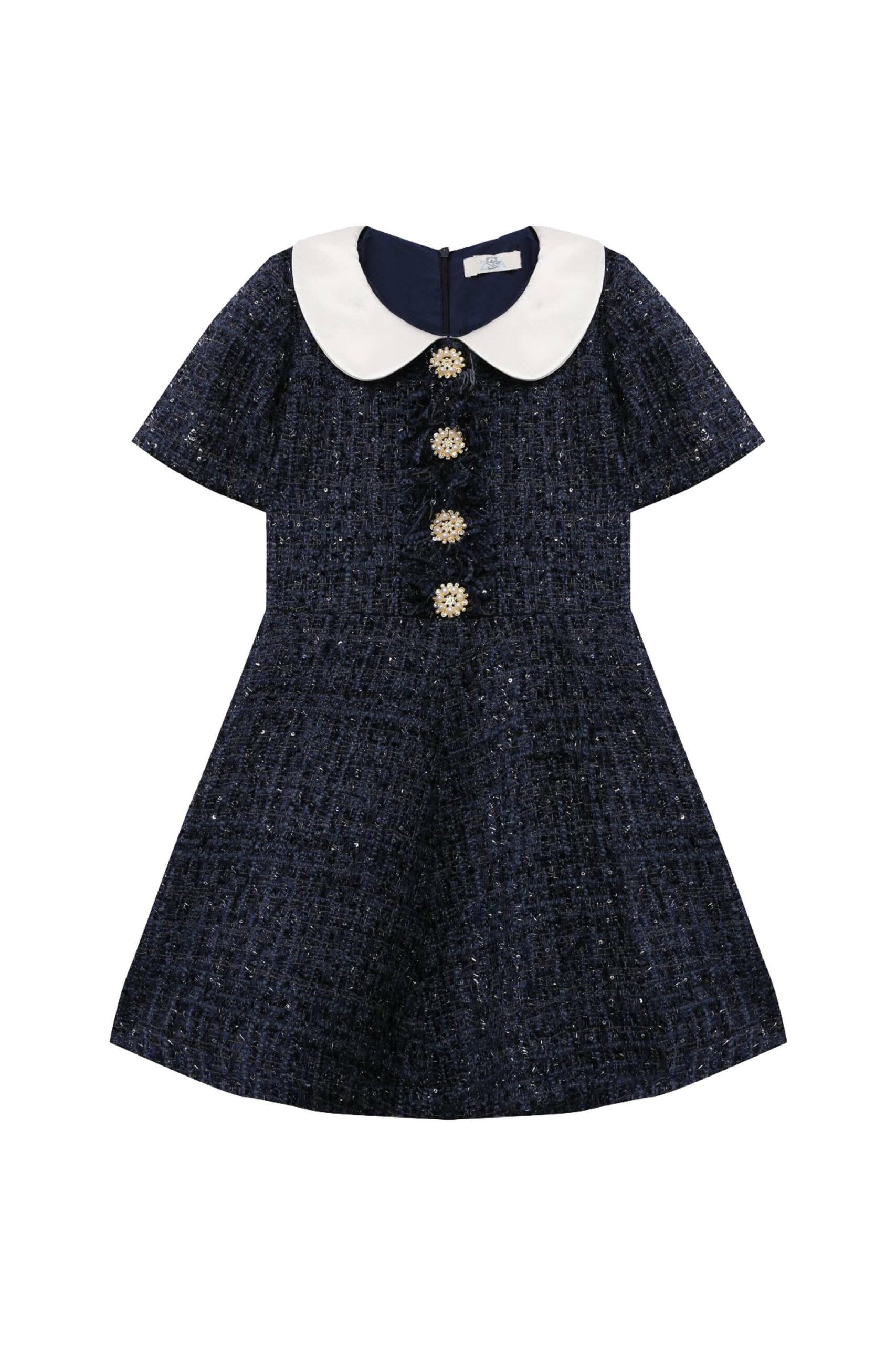 Платье Mery Синее